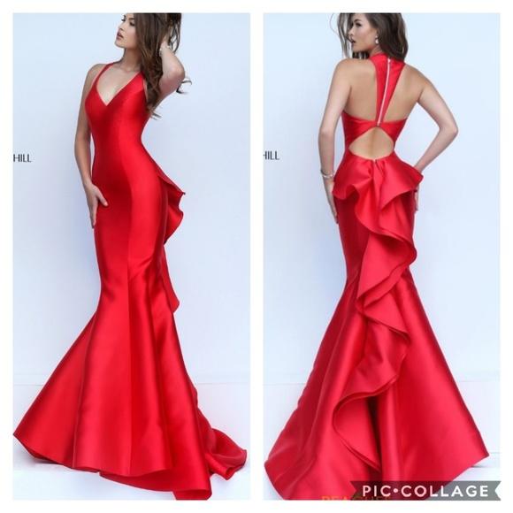 70cb3b7a557 Sherri Hill Style   50195. M 5c4a4e613e0caabe475e9c23